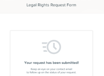 HR cloud GDPR legal rights request