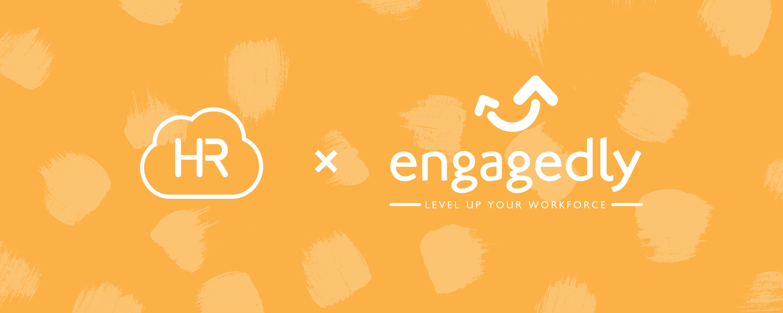 HR Cloud Engagedly Logos